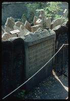 Pinkas Synagogue (Prague, Czech Republic) : Close-up of grave stones