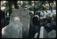 Pinkas Synagogue (Prague, Czech Republic) : Details of grave stones
