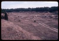 Treblinka Concentration Camp : Sand and gravel pit for war time prisoners