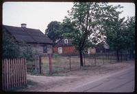 Treblinka Concentration Camp : Polish homes in the village of Treblinka
