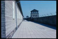 Mauthausen Concentration Camp : Wall behind camp administration building