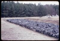 Treblinka Concentration Camp : Memorial behind the swirl of stones