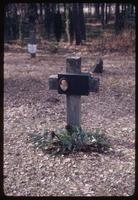 Treblinka Concentration Camp : Grave stone of Polish worker/prisoner