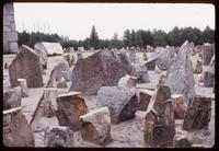 "Treblinka Concentration Camp : ""Satellite of Stones"" representing Jewish victims/Polish cities"