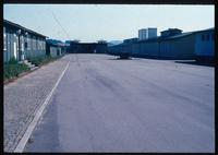 Mauthausen Concentration Camp : Camp administrative buildings on the left