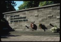 Plötzensee Prison (Berlin, Germany) : Wall commemoration to Assassination Plot conspirators