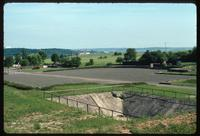 Dora Concentration Camp : Roll call yard, site memorial and surrounding landscape