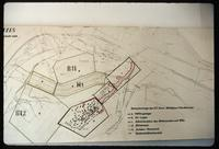 Dora Concentration Camp : Site plan showing underground cave areas for V2 production