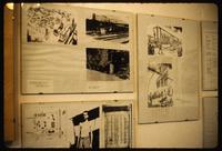 Dora Concentration Camp : War period photos and sketches of camp activity
