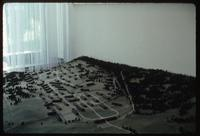 Dora Concentration Camp : Camp model in Visitors' Museum