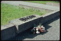 Dora Concentration Camp : Barracks commemoration to Belgian prisoners