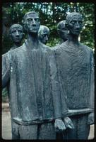 Dora Concentration Camp : Details of sculptural figures