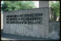 "Dora Concentration Camp : ""Place of Honor"" acknowledges anti-fascist struggle"