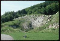 Dora Concentration Camp : Mined outcrops on-site