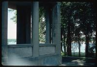 House of the Wannsee Conference Memorial (Berlin, Germany) : Rear villa view to the Wannsee
