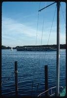 House of the Wannsee Conference Memorial (Berlin, Germany) : View across the Wannsee from an adjacent marina