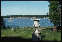 House of the Wannsee Conference Memorial (Berlin, Germany) : View of Wannsee from the rear of the Villa