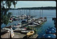 House of the Wannsee Conference Memorial (Berlin, Germany) : Marina adjacent to the Wannsee Villa