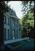 House of the Wannsee Conference Memorial (Berlin, Germany) : Rear facade of the Villa structure facing the Wannsee