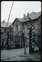 Auschwitz Concentration Camp : Auschwitz Camp 1 entry point