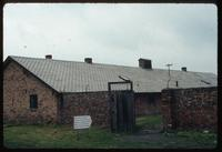 Birkenau Concentration Camp : Barracks entry