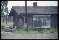 Birkenau Concentration Camp : Doctors' office at train disembarcation platform with signage