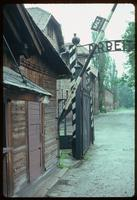 Auschwitz Concentration Camp : Entry guard house at Auschwitz Camp 1