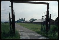 Birkenau Concentration Camp : Entry gate to camp B1 near the disembarcation platform