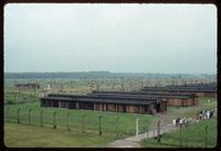 Birkenau Concentration Camp : Recently rebuilt barracks in camp B2