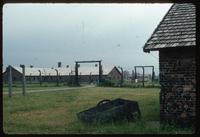 Birkenau Concentration Camp : Camp B1 with administrative buildings in the background