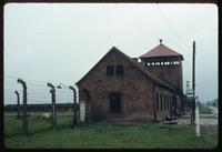 Birkenau Concentration Camp : Administrative offices and electrified perimeter fencing