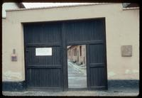 Theresienstadt Concentration Camp : Block 31 entry gate