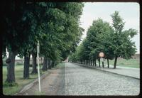 Theresienstadt Concentration Camp : Entry road to fortress/camp main gate