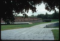 Theresienstadt Concentration Camp : Fortress/camp moat and wall