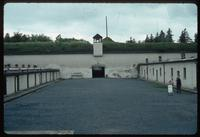 Theresienstadt Concentration Camp : Prison cells and roll call yard