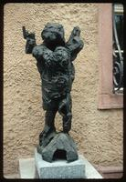 Theresienstadt Concentration Camp : Commemorative sculpture dedicated to fortress/camp children