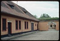 Theresienstadt Concentration Camp : Arched entry to barracks area