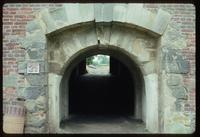 Theresienstadt Concentration Camp : Arched entry to execution wall