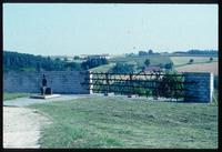 Mauthausen Concentration Camp : Symbolic fence and freedom expressed in memorial