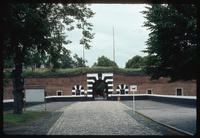 Theresienstadt Concentration Camp : Fortress/camp main entry gate