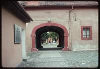 Theresienstadt Concentration Camp : Long view to main fortress/camp entry gate