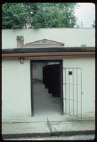 Theresienstadt Concentration Camp : Cell block gate