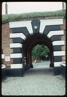 Theresienstadt Concentration Camp : Main entry gate to fortress/camp