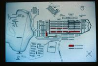Mauthausen Concentration Camp : Site plan showing camp and quarry