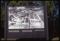 Dachau Concentration Camp : Aerial photograph of Dachau Concentration Camp