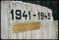 Chelmno Concentration Camp : Further commemorative inscription