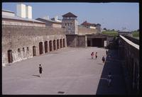 Mauthausen Concentration Camp : Fortress entry courtyard