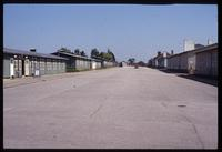 Mauthausen Concentration Camp : View from the entry gate to the barracks complex