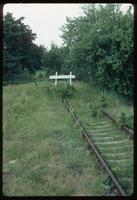 Sobibór Concentration Camp : End of disembarcation track siding