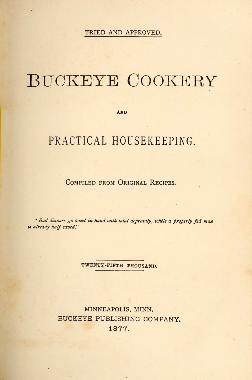 Buckeye cookery, and practical housekeeping : compiled from original recipes